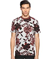 McQ - Large Floral Short Sleeve T-Shirt