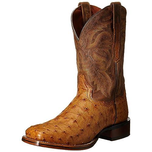 368a42a085e Full Quill Ostrich Boots: Amazon.com