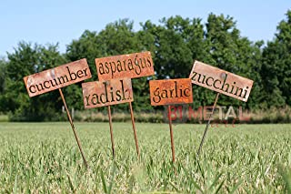 Classic Metal Garden Markers - Set of 3, 5, 10, 15, 20, 30 or 50