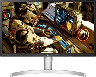 LG 27 inch 4K UHD IPS LED HDR Monitor with Radeon Freesync Technology and HDR 10, Silver - 27UL550-W