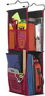 LockerWorks 2 Shelf Adjustable Hanging Organizer, Sturdy & Compact, 23-25