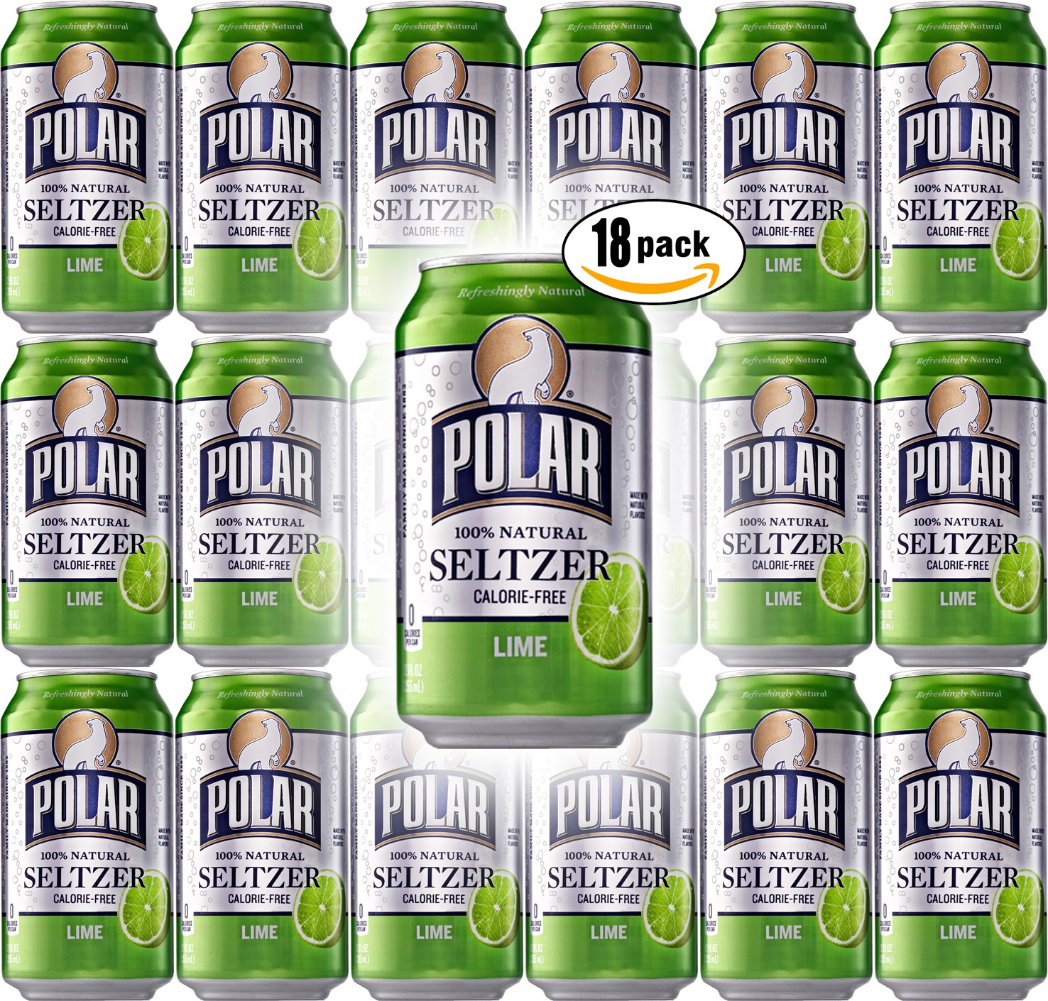 Polar Seltzer Lime Dedication 12oz Cans Pack Oz Total 216 of Popular product 18
