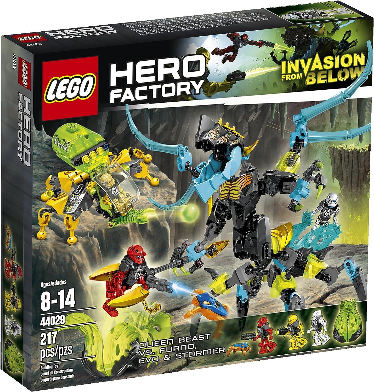 Envío rápido y el mejor servicio LEGO Hero Factory Queen Beast vs. vs. vs. Furno, Evo and Stormer 44029 Building Set by LEGO  buen precio
