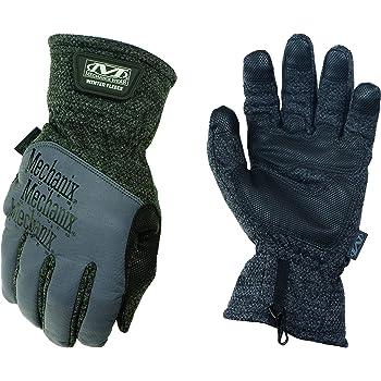 Mechanix Wear Winter Fleece Warm Isolierte Handschuhe Medium Schwarz Grau Auto