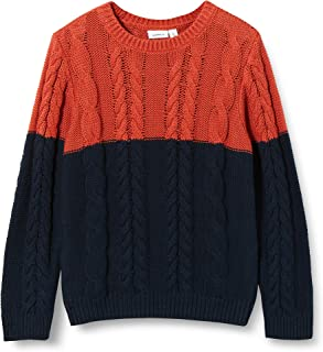 NAME IT Nmmovenne LS Knit Jersey de Punto para Niños