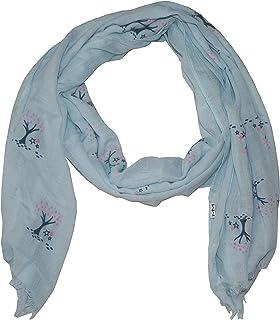 d2c954b8bbc07 ManuMar Echarpe pour femme | Echarpe pour le cou en différentes couleurs  avec motif pointu comme accessoire parfait automne/hiver | Echarpe classique  ...
