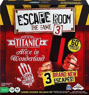 لعبة لوحة Escape Room الإصدار 3، للبالغين والأطفال من سن 16 سنة فما فوق