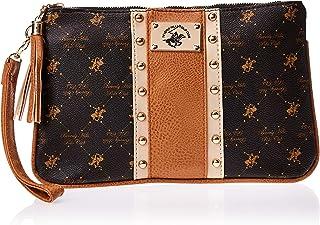 BHPC Womens Wristlet Bag, Brown(BN/VA/NT) - WBR6292RVA