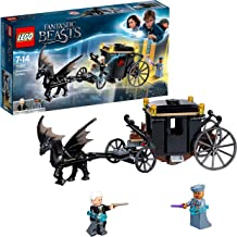 LEGO 75951 Fantastic Beasts Grindelwald´S Escape Carriage Toy, Harry Potter Gifts, Build & Play Toys for Kids