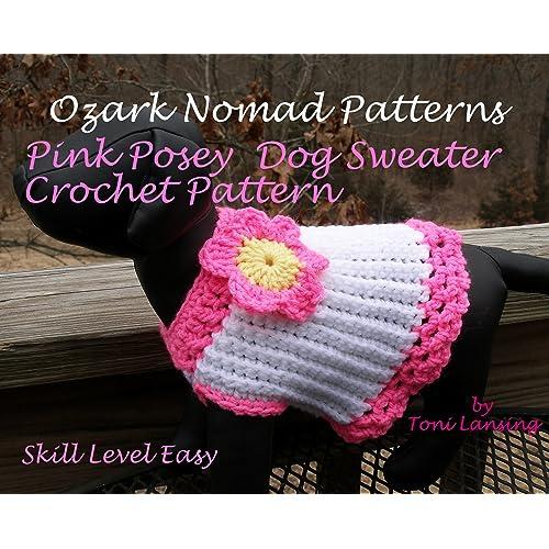 Crochet Dog Sweater Amazoncom
