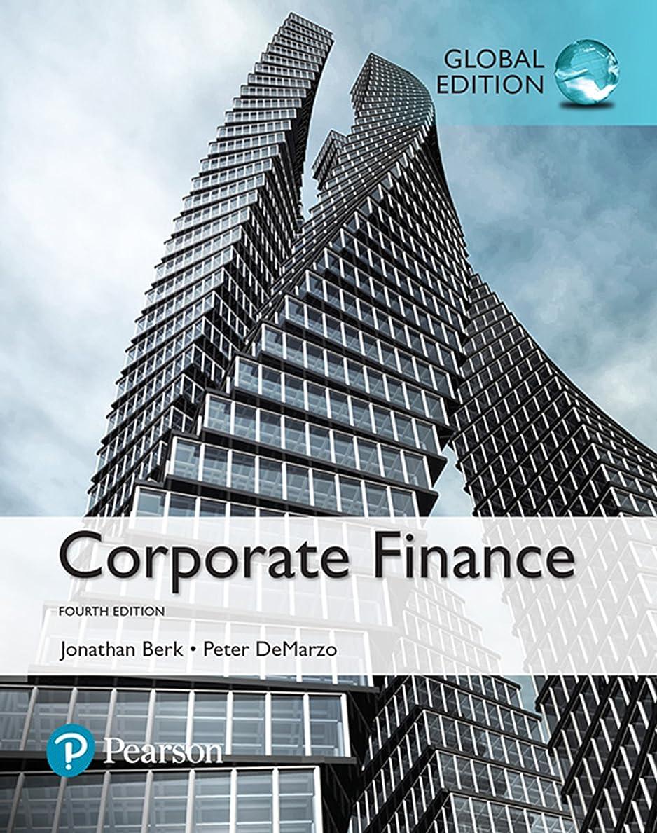 切り下げ子音展開するCorporate Finance, Global Edition (English Edition)