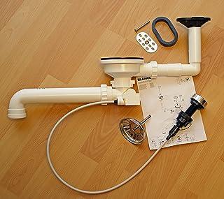 Blanco Ablaufgarnitur 3,5 mit Exzenterbedienung und Überlauf oval kpl.