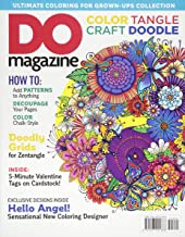 Color, Tangle, Craft, Doodle (#3) DO Magazine (Design Originals) How-To Add Patterns to Anything, Decoupage Your Pages, Color Chalk-Style