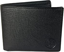 TnW Men Artifcial Leather Wallet(Black)