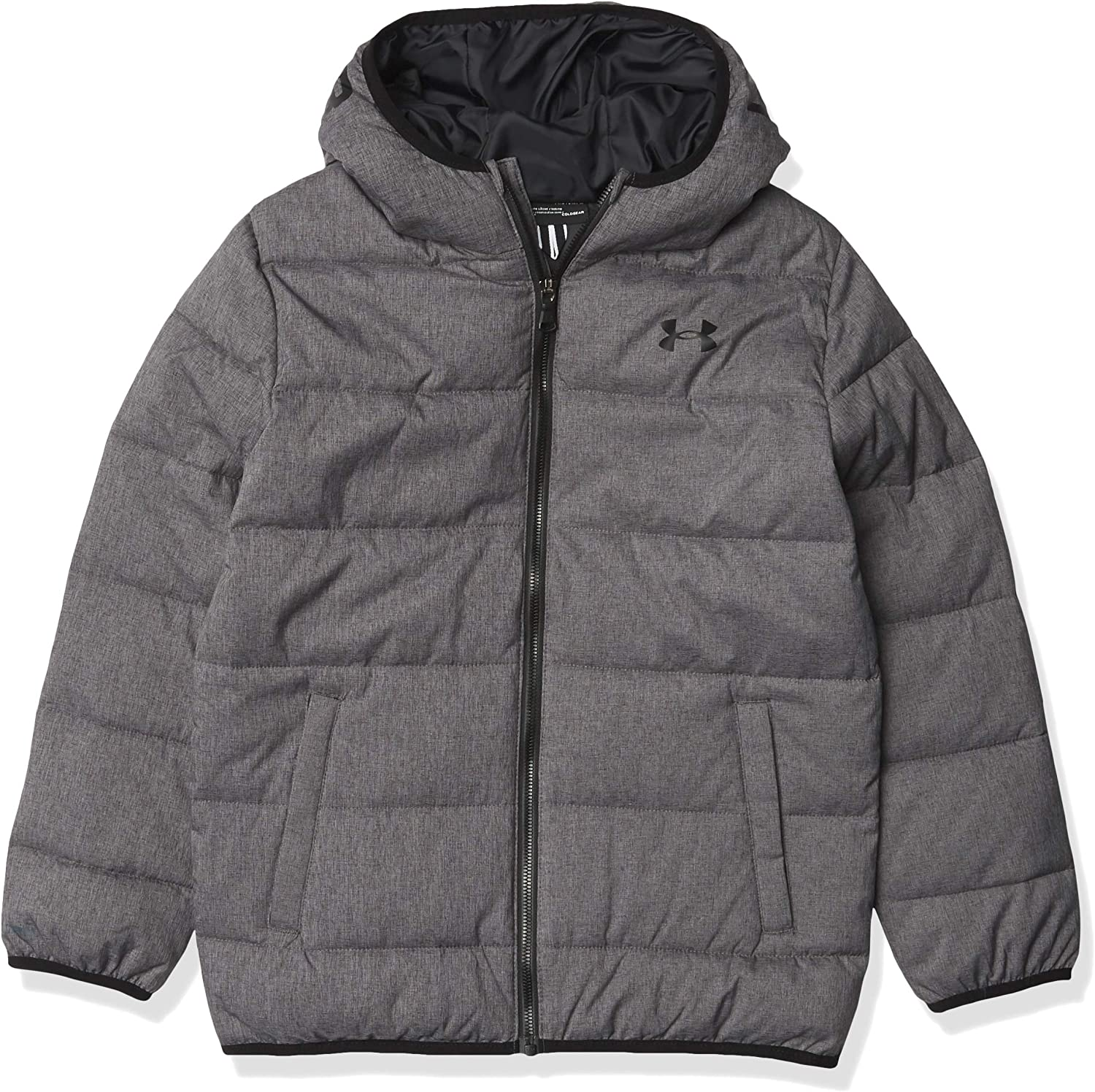 Details about  /New under armour boys pronto puffer jacket coat YMD M 10-12 YLG L 14 Coldgear