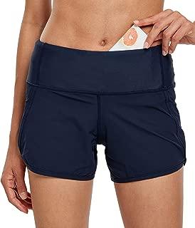 navy athletic shorts womens