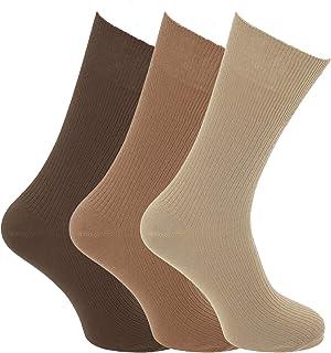 Pertemba Global, Calcetines para diabeticos sin elástico Modelo Big Foot hombre caballero (3 pares)