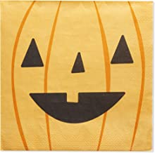 Witches Elements for Halloween Party Becko 80-Pack Halloween Napkins Cocktail Napkins Paper Napkins Party Napkins Disposable Tissues with Pumpkins Bats
