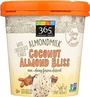 365 Everyday Value, Almondmilk Coconut Almond Bliss Non-Dairy Dessert, 1 pint, (Frozen)