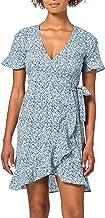 ONLY ONLOLIVIA S/S WRAP DRESS PETITE WVN dames jurk