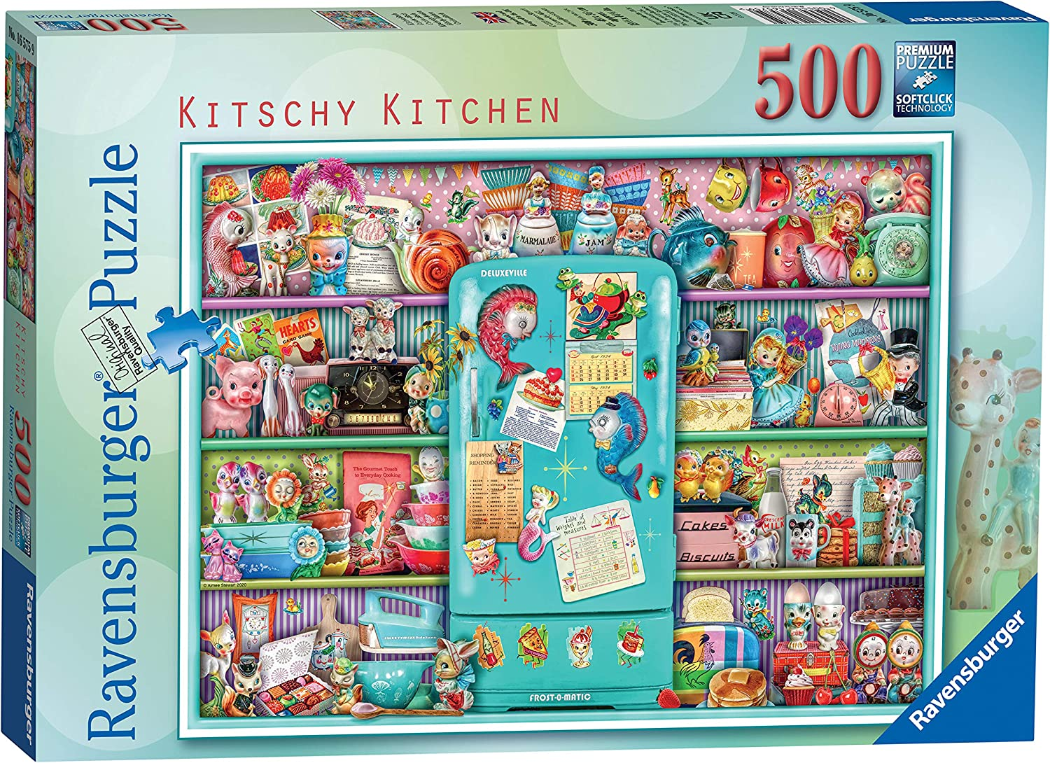 Ravensburger Kitschy Kitchen 500 Piece for Jigsaw Cheap SALE Start New popularity Puzzle Adults
