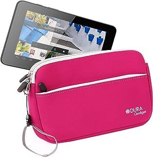 DURAGADGET Funda Rosa De Neopreno para Mundo Reader Tablet BQ Maxwell 2 Plus/Maxwell Plus/Maxwell 2 De 7 Pulgadas