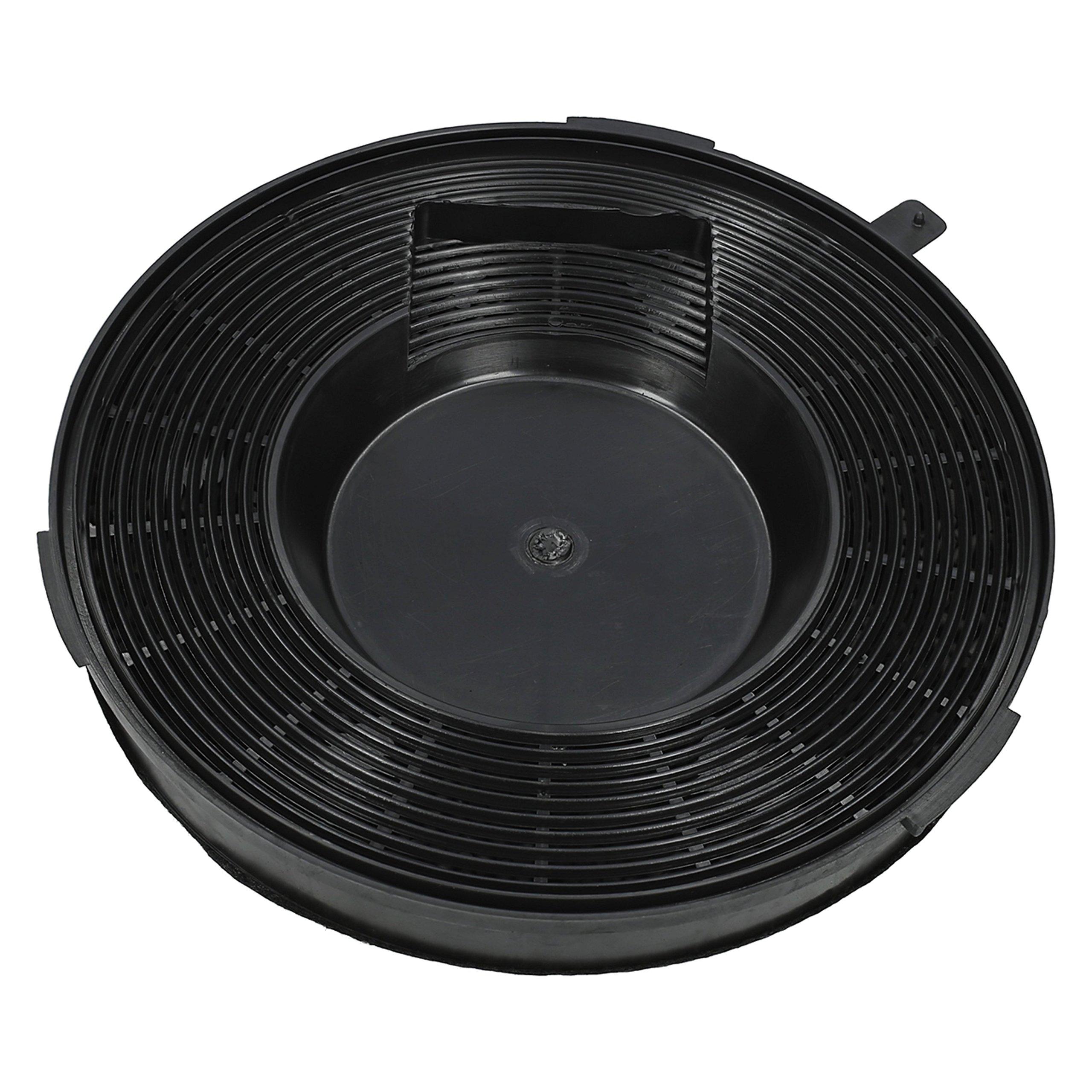 WESSPER® Campana extractora filtro para Whirlpool AKR420IX-1 (redonda, carbón): Amazon.es: Grandes electrodomésticos