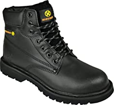 BARGAINS-GALORE Mens Safety Trainers Shoes Boots Work Steel
