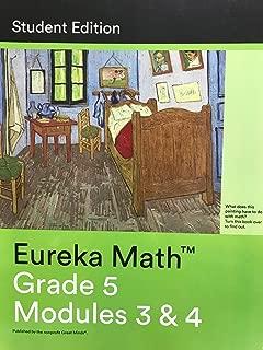 Eureka Math Grade 5 Modules 3 and 4 Student Edition