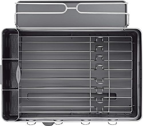 simplehuman-Steel-Frame-Kitchen-Dish-Drying-Rack