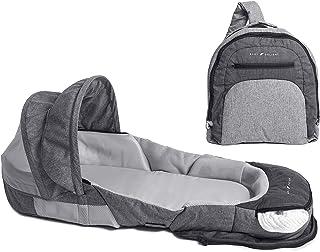 Baby Delight BD03790 Snuggle Nest Adventure Portable Infant Sleeper, Grey