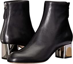 Sculpted Heel Ankle Boot