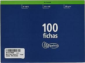 Miquelrius Número 5 - Fichas Rayadas, 100 Unidades, 160 x