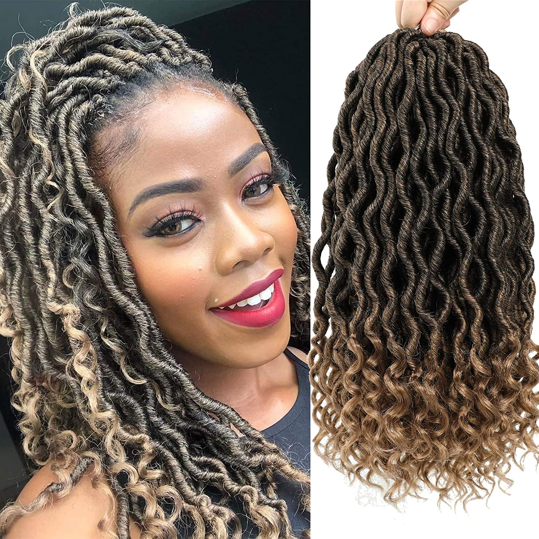 Outlet ☆ Free Shipping Karida 6Pcs Lot Faux Locs Crochet 14 Deep Wave Braidin inch Bargain Hair