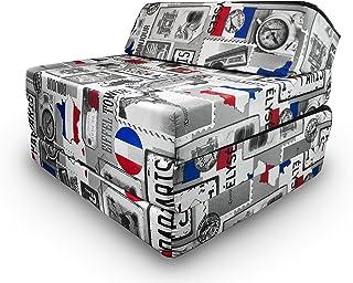 comprar comparacion Natalia Spzoo Colchón plegable, cama de invitados, colchón de espuma 200x70 cm (Paris)
