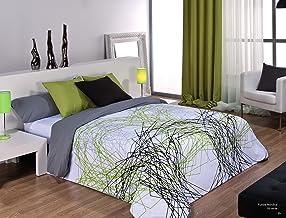 Cañete Sa - Funda nórdica tyna.(Color: Verde- Medidas Cama: 150)