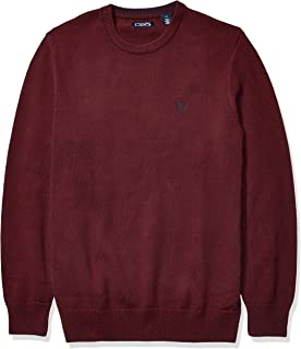 Men's Big and Tall Classic Fit Cotton Crewneck Sweater