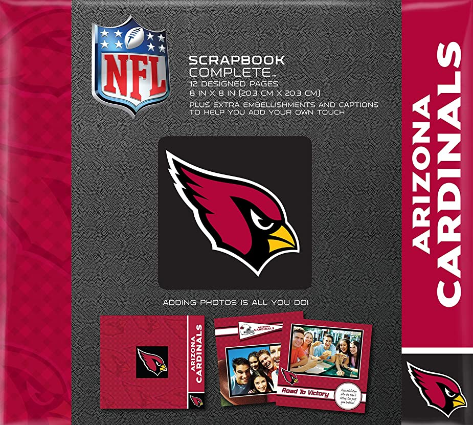 C.R. Gibson Scrapbook Complete Kit, Small, Arizona Cardinals (N878372M) wwjwxb5529428
