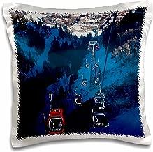 3dRose pc_143199_1 Use, Colorado, Aspen Mountain Ski Area, Gondola Us06 Wbi0007 Walter Bibikow Pillow Case, 16