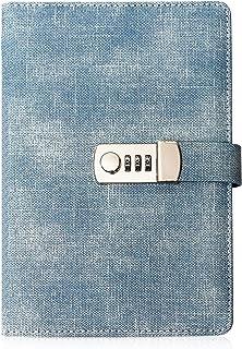 خاطرات قفل KaiRuiYing برای زنان ، خاطرات زیبا با قفل ترکیبی برای دختران نوجوان - دفترچه یادداشت با قفل و نگهدارنده قلم ، مجله خاطرات A5 برای کودکان ، خاطرات چرمی با رمز عبور