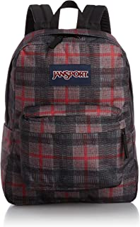 SuperBreak Backpack (Red Tape Knit Plaid)