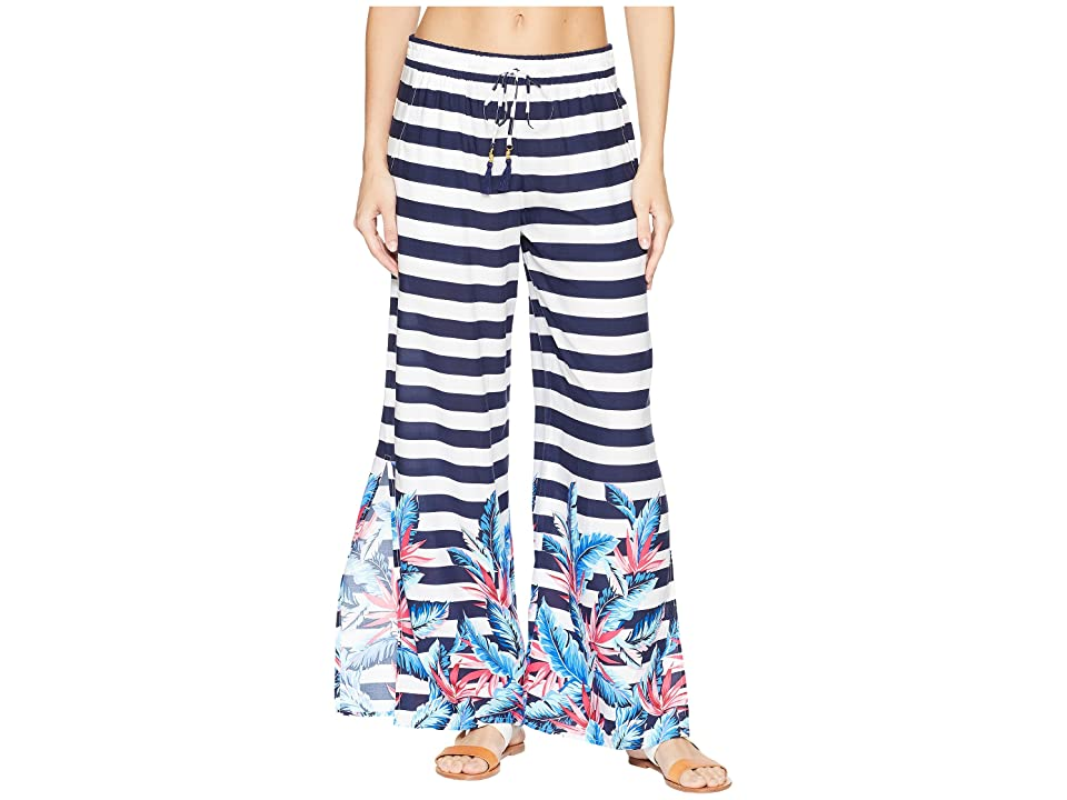 Tommy Bahama Palms Paradise Beach Pant Cover-Up (Mare Navy) Women
