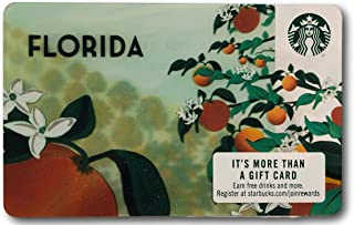 Starbucks Gift Card Collectible Florida State Orange Tree No Value