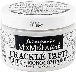 Stamperia Intl K3P37 Pasta Crackle 150ml, Blanco