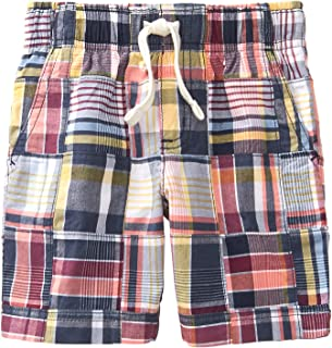 Gymboree Boys' Toddler Patchwork Woven Shorts