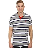U.S. POLO ASSN. - Slub Slim Fit Polo