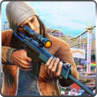 Roller Coaster Sniper Rules of Survival in American Shooter Arena 3D Game: Shot & Kill Terrorist Attack In Battle Action Simulator Thrilling Adventure Game