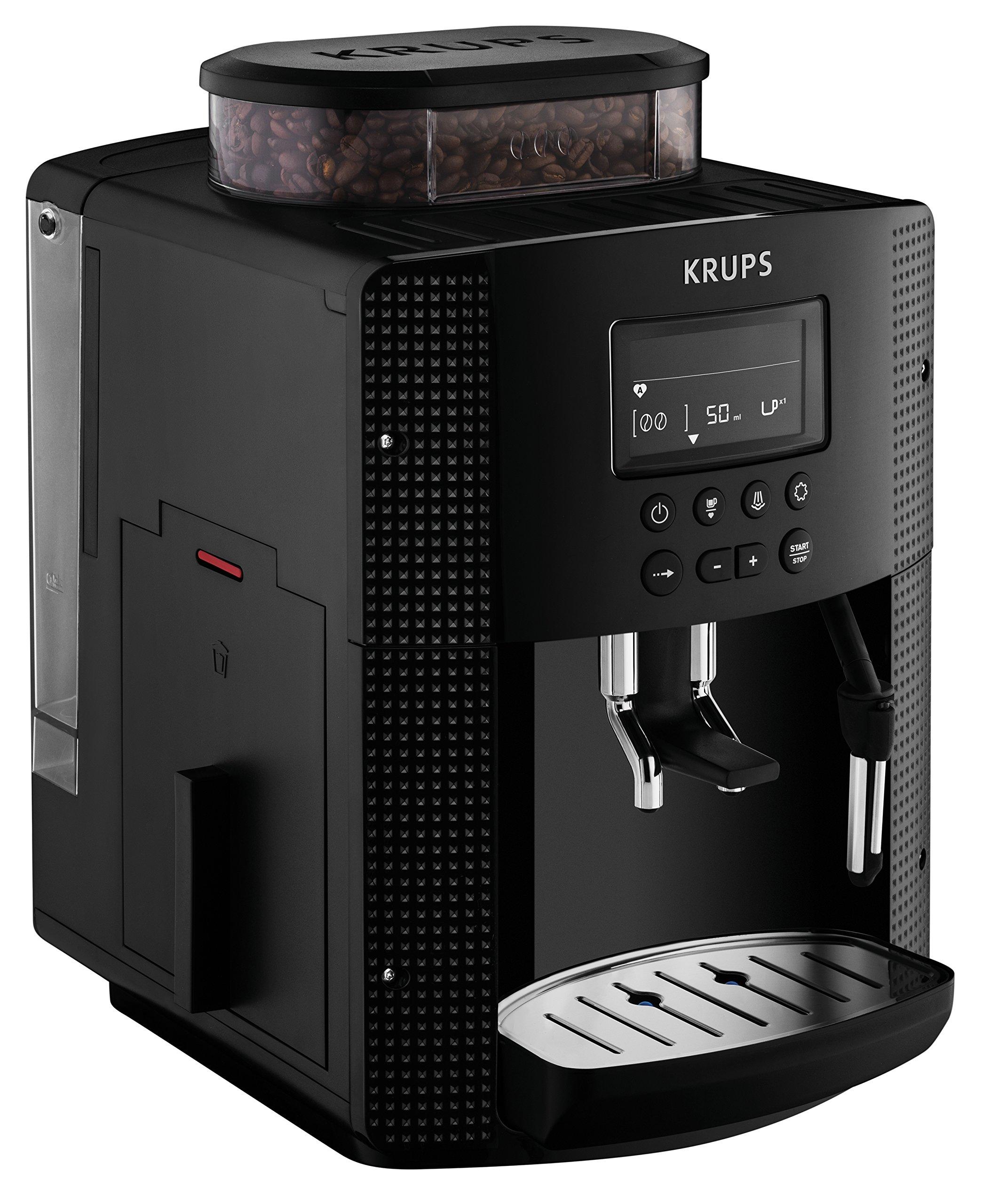 Krups EA8150 - Cafetera (Independiente, Máquina espresso, 1,7 L ...