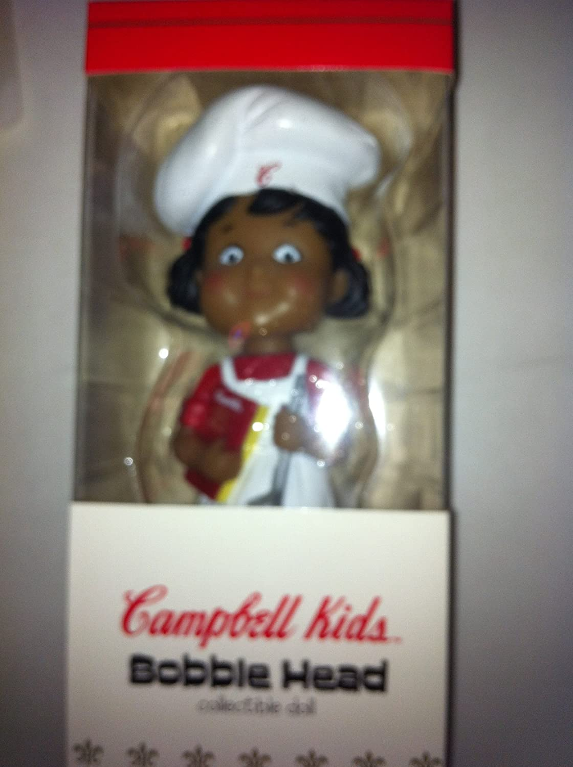 Campbell Kids Bobble Head Collectible Doll by Campbell's