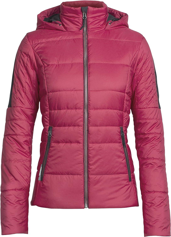 Icebreaker Stratus X Hooded Jacket, New Zealand Merino Wool, Down Alternative